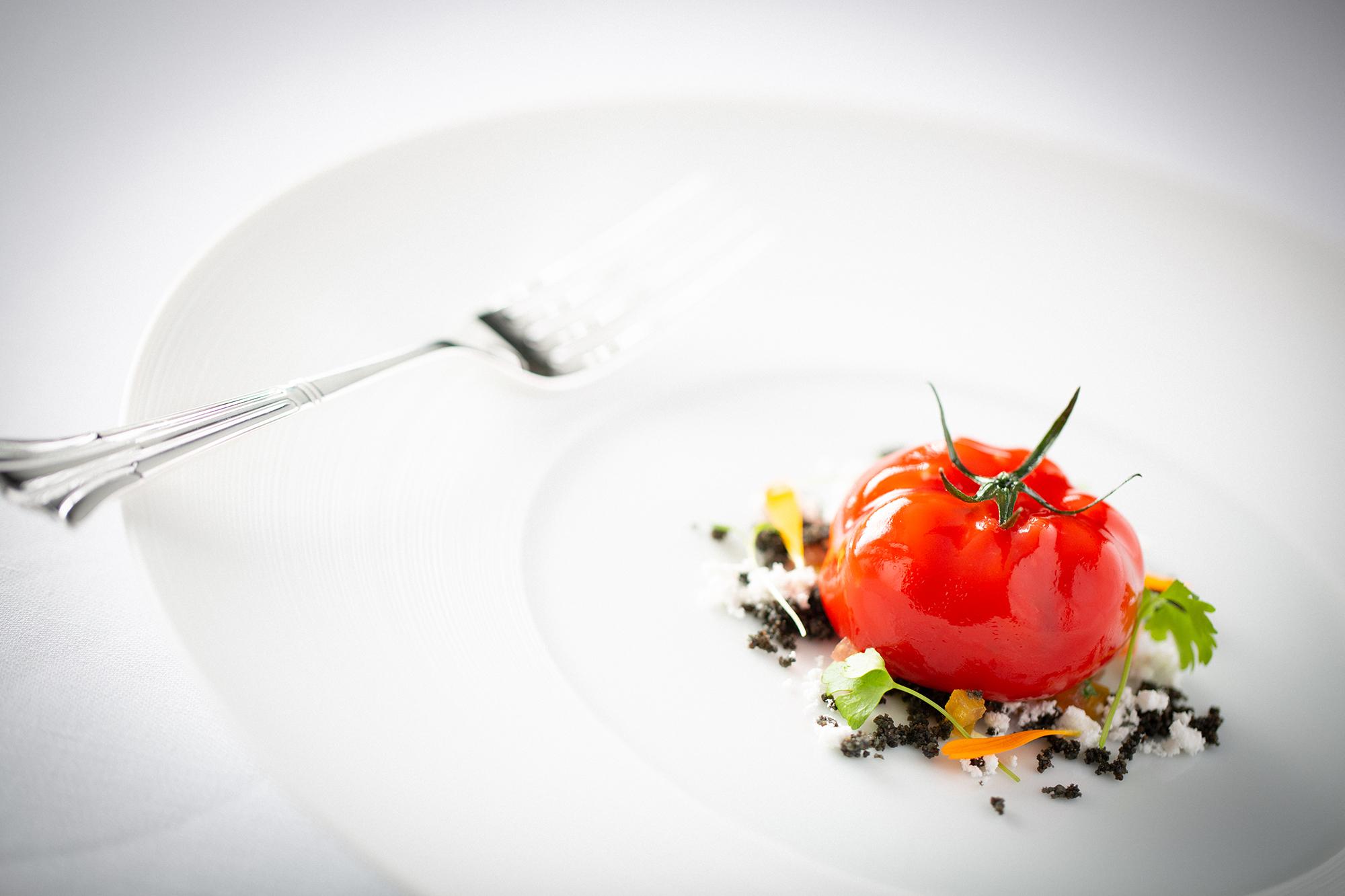 Grantley Hall. Food - Shaun Rankin