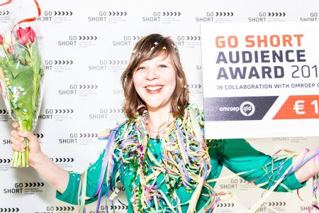 Homo Ludens won the  Go Short Audience Award 2018 .