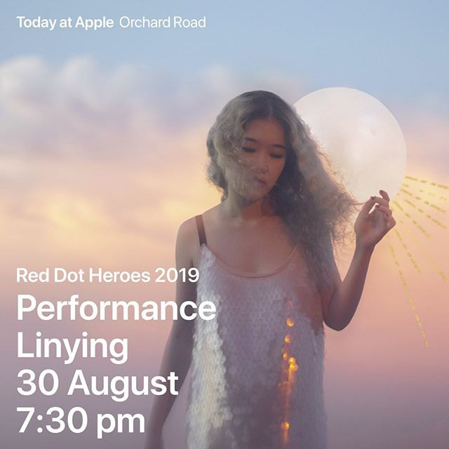 Catch Linying at Apple Orchard Road on 30 August at 7.30pm - link in her bio! @linyingmusic