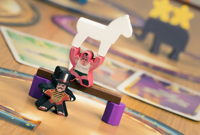 Pictured:  Meeple Circus