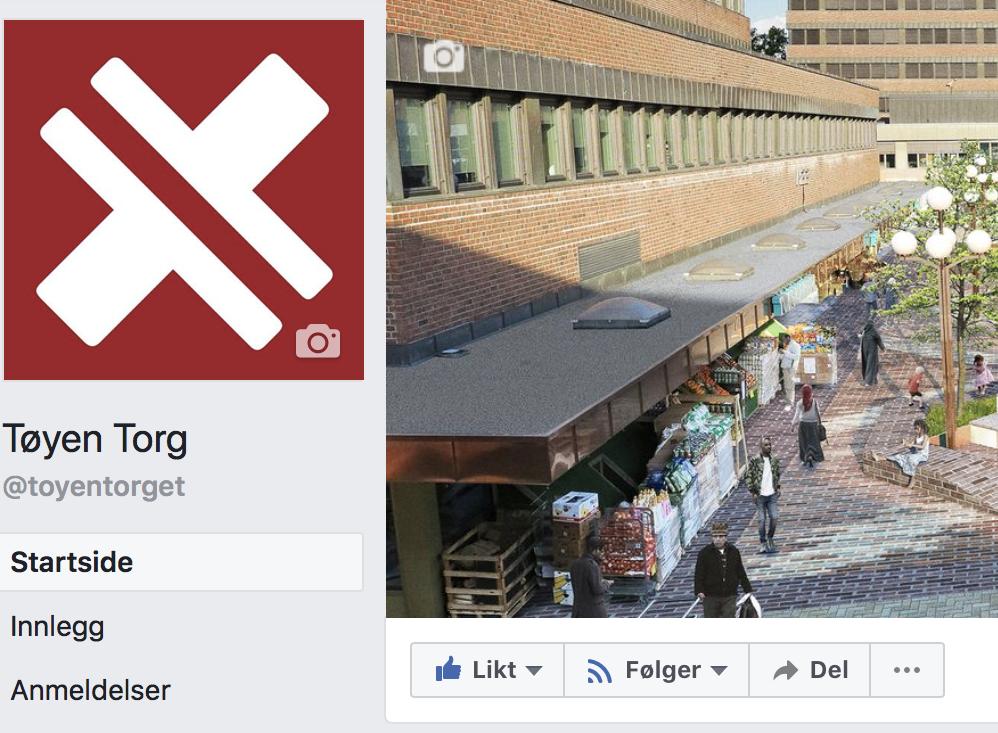 Følg gjerne Tøyen Torg på Facebook for å få med deg det siste om det som skjer på torget.