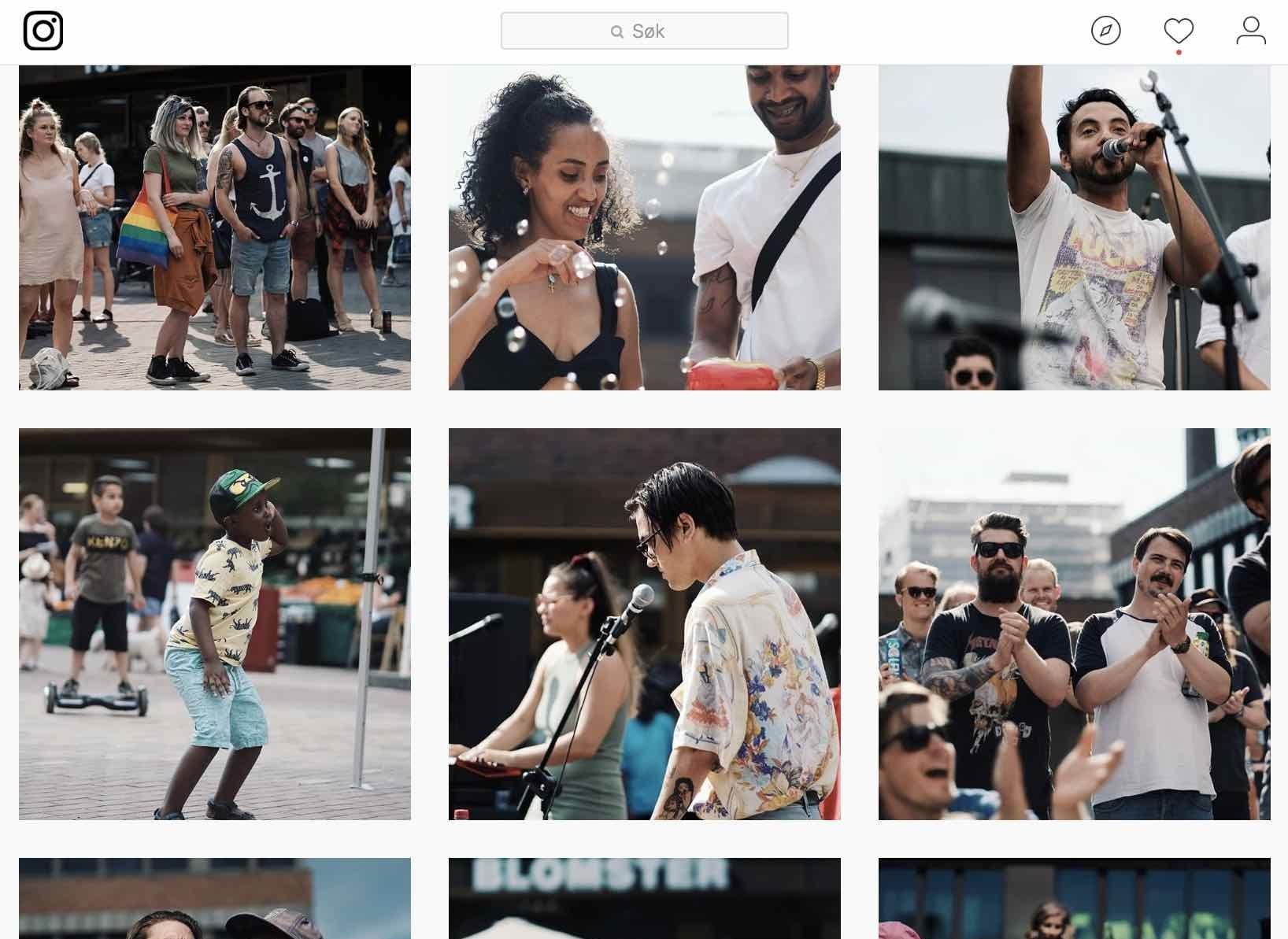Vi vil også dele mange bilder og historier på  vår Instagram-konto.