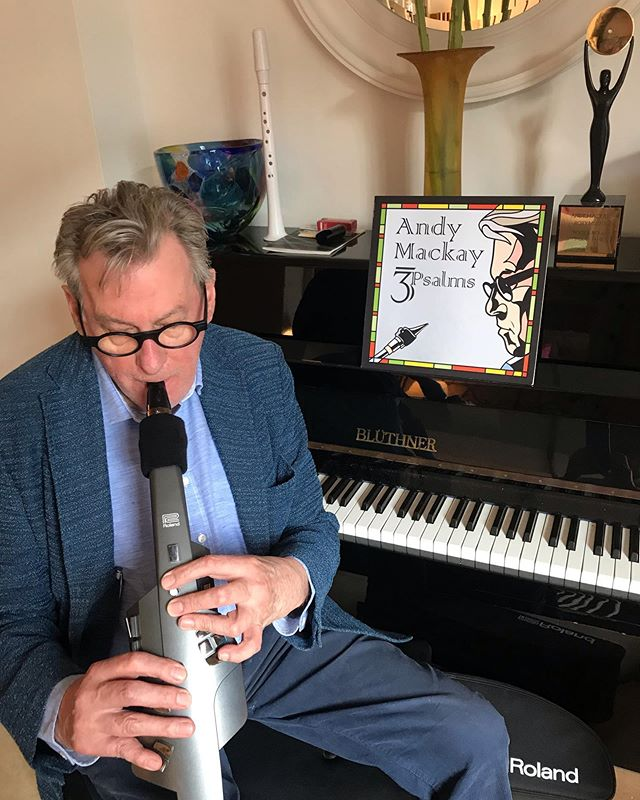 Just cancelled Roxymphony/3Psalms tour as unfortunately have hand problems. Duputreyns has finally claimed left little finger. Sax pretty impossible right now but Aerophone more forgiving.#roxymusic@roland@3Psalms#saxophone#aerophone@roxymphony@andyroxysax