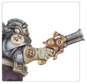 Kharadron Overlord pistol