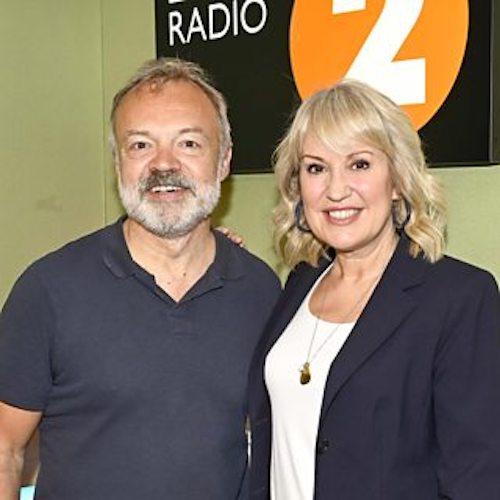 GRAHAM NORTON- BBC RADIO 2 - Saturday, June 8th 2019, 12.30 pm.