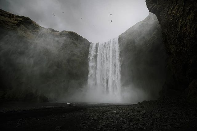 I finally got to see this amazing waterfall in person 🇮🇸 #skogafoss #waterfall #iceland #icelandtravel #icelandscape #tourist #nature #travel #visiticeland #wheniniceland #roadtrip #exploreiceland