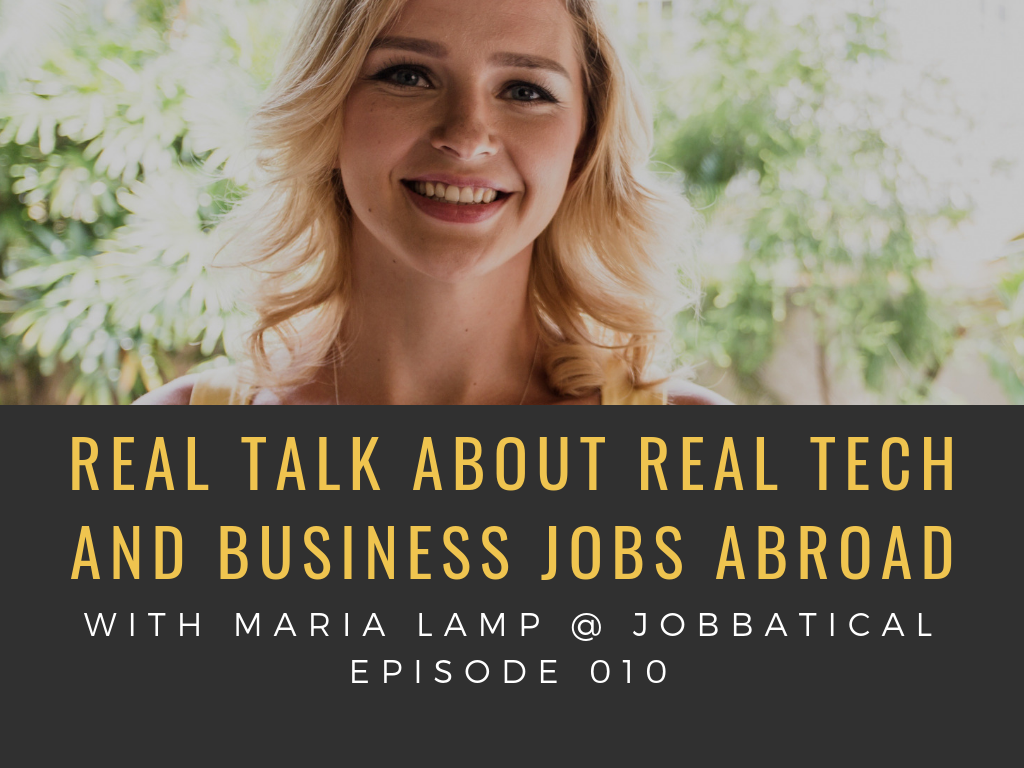listen to insights into what the tech jobs abroad are in demand, where in the world the jobs are located and what a realistic relocation package might look like for a family.