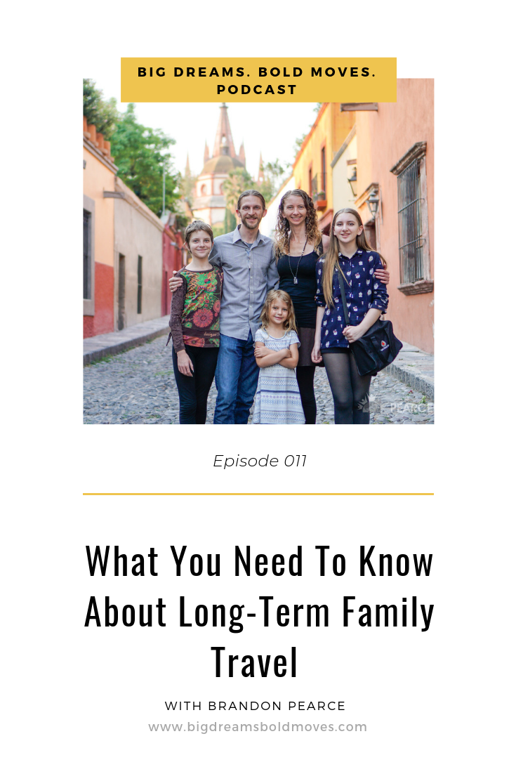 Hear how this 4 hour work week entrepreneur has been traveling with his family for the last 10 years! He shares with us how they got started, 3 important things that you need to know and EXACTLY how you can get the tools, information and support you need to make your own bold long-term travel moves.