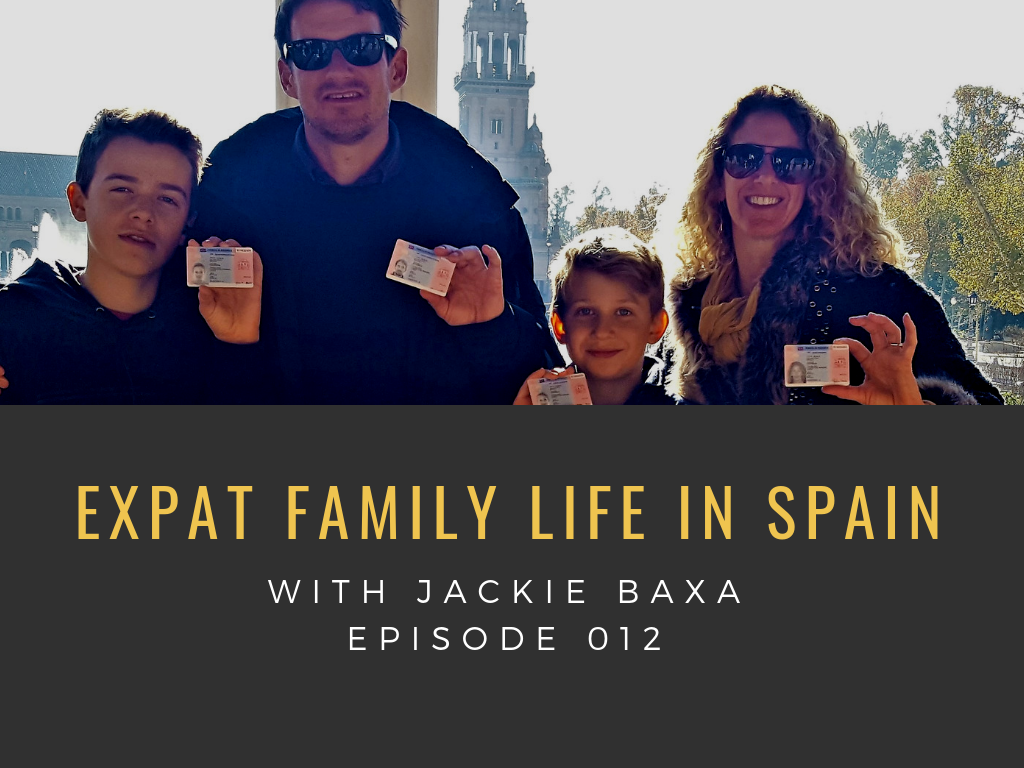 expat family in spain