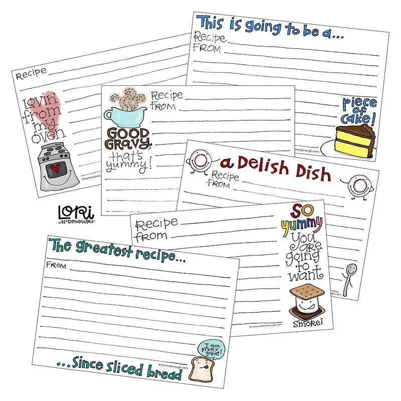 Recipe Cards - Everyday Series