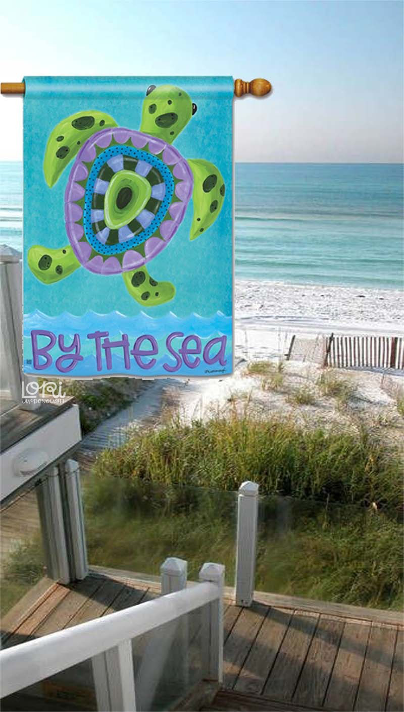 By The Sea Flag