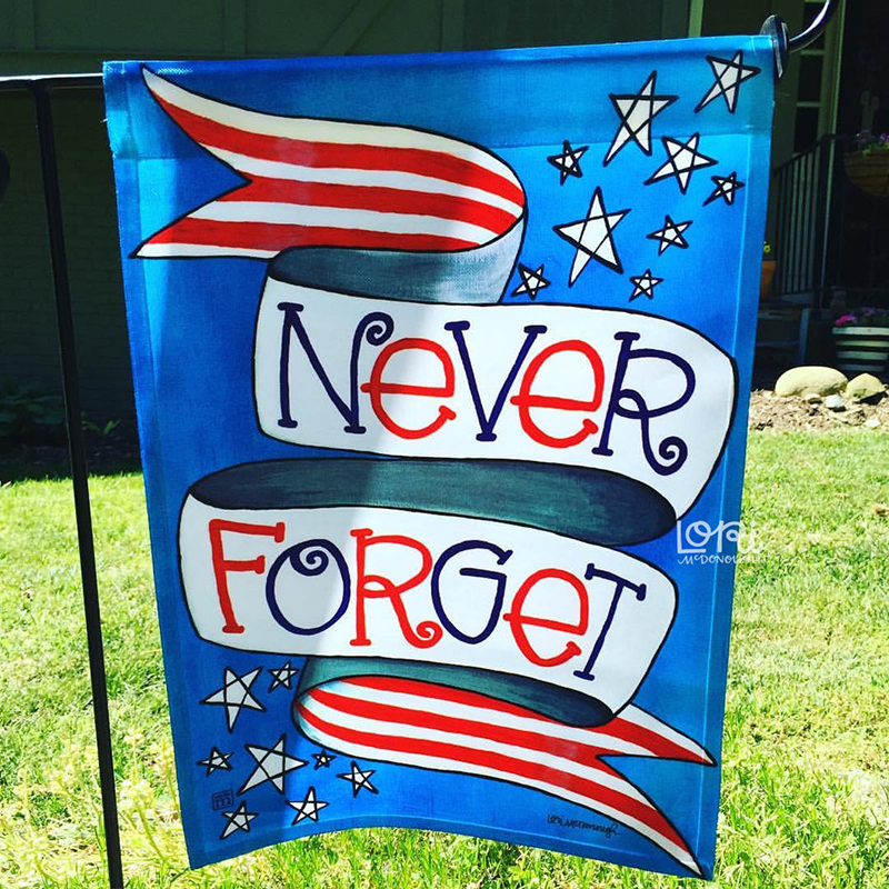 Never Forget Flag