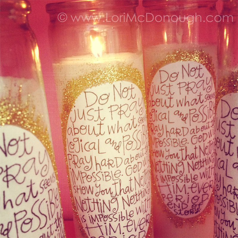 The Impossible Prayer Candles