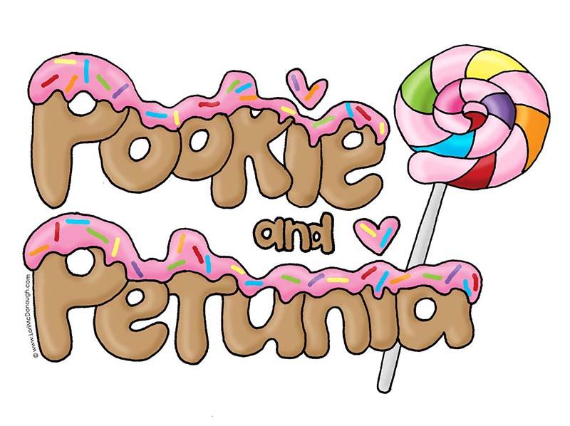Pookie and Petunia Illustration