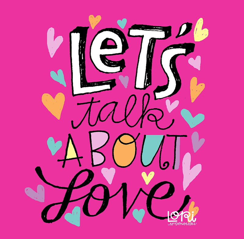 Let's Talk About Love Illustration