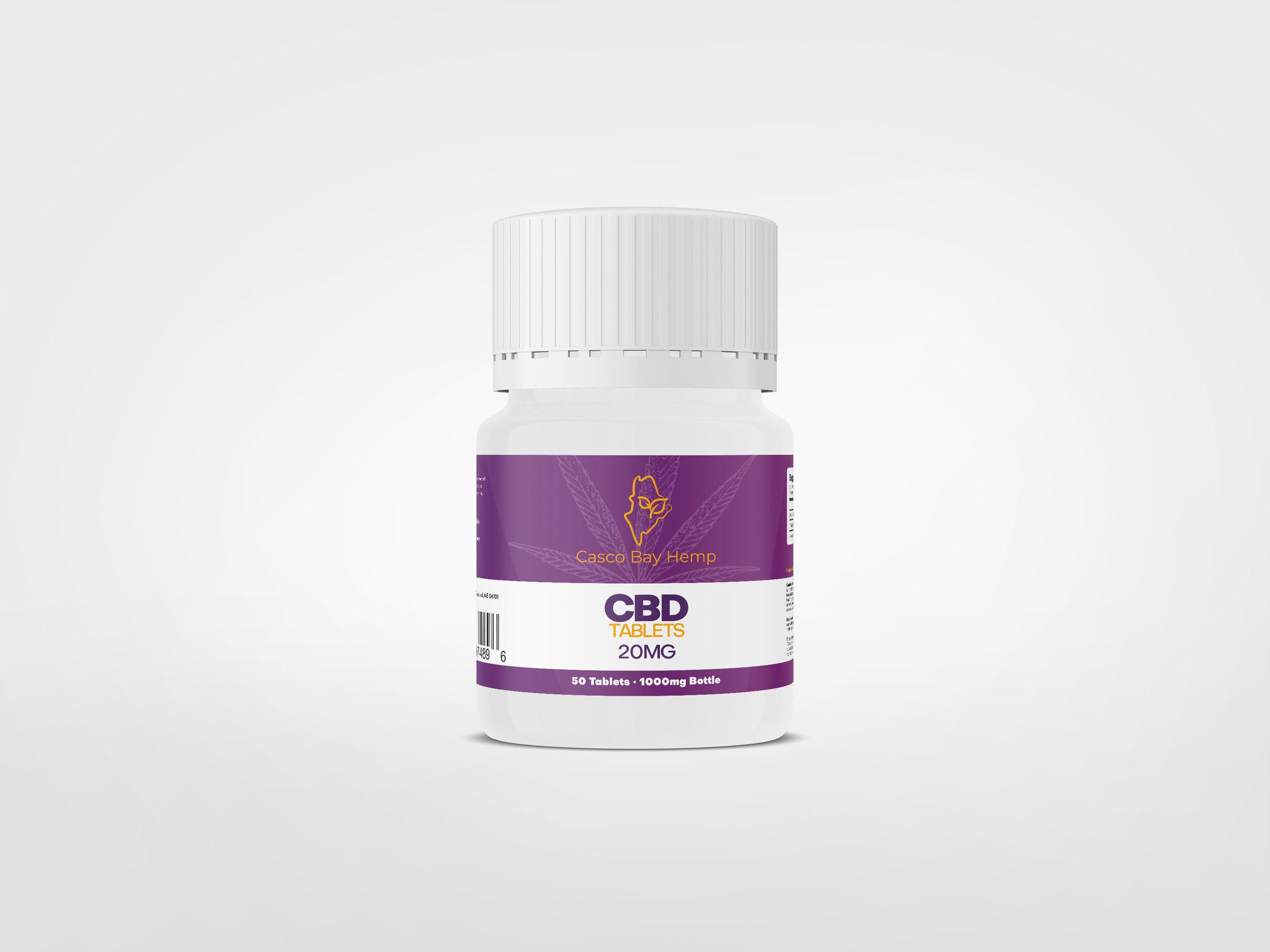 1000mg Bottle CBD Pills