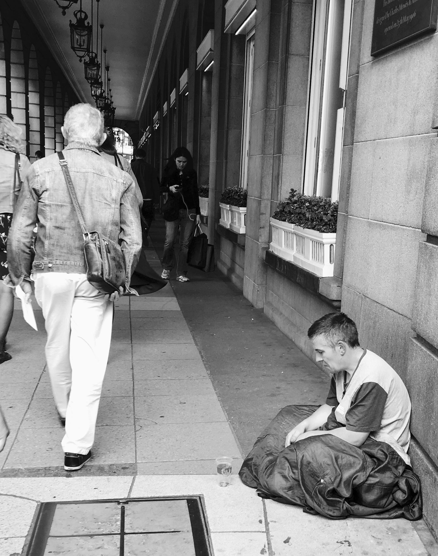 Homeless in London