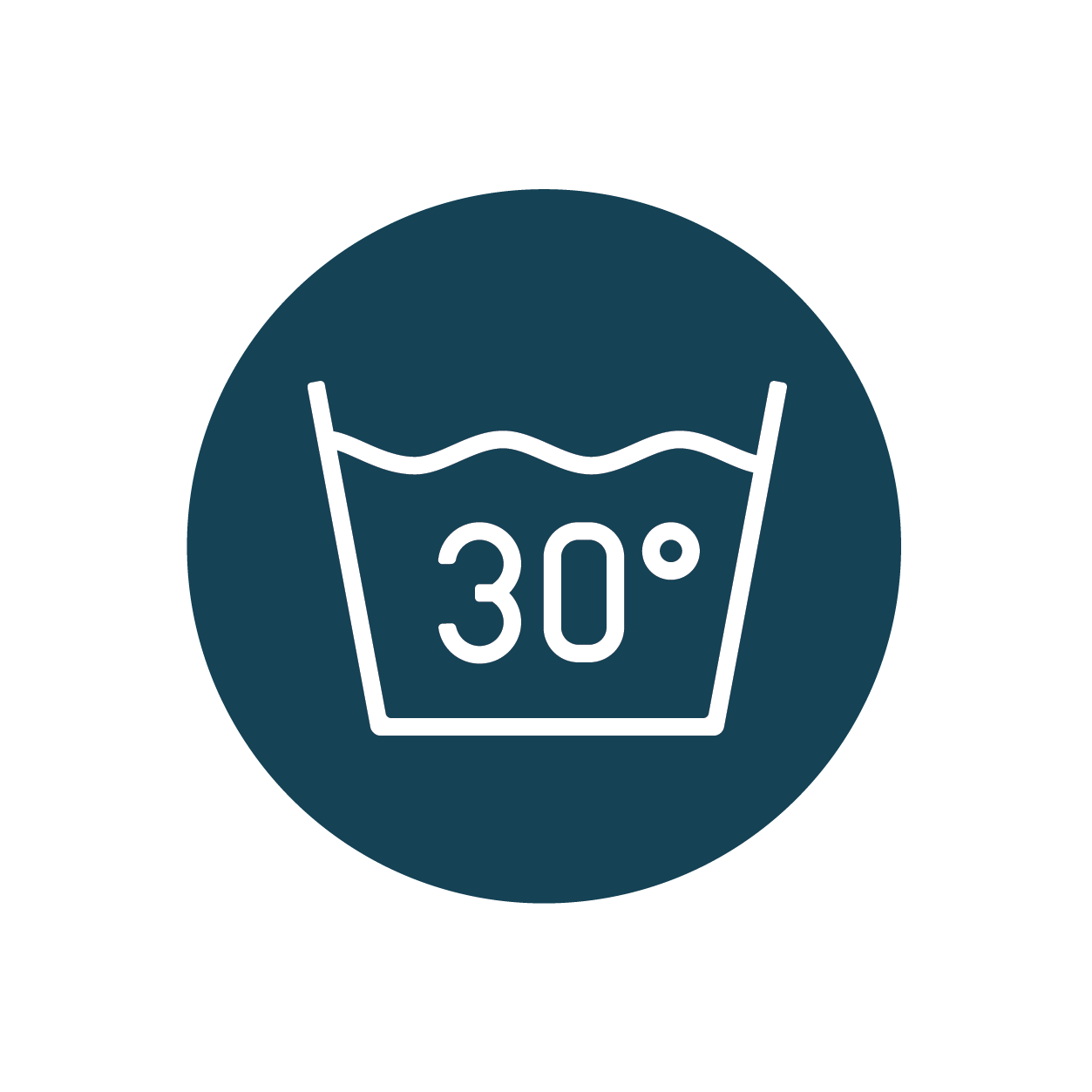 Wash clothes on 30° and on shorter cycles - Not only does this save energy, research suggests it can limit microfibre shedding as cooler water doesn't wear your clothes as much as hotter ones.