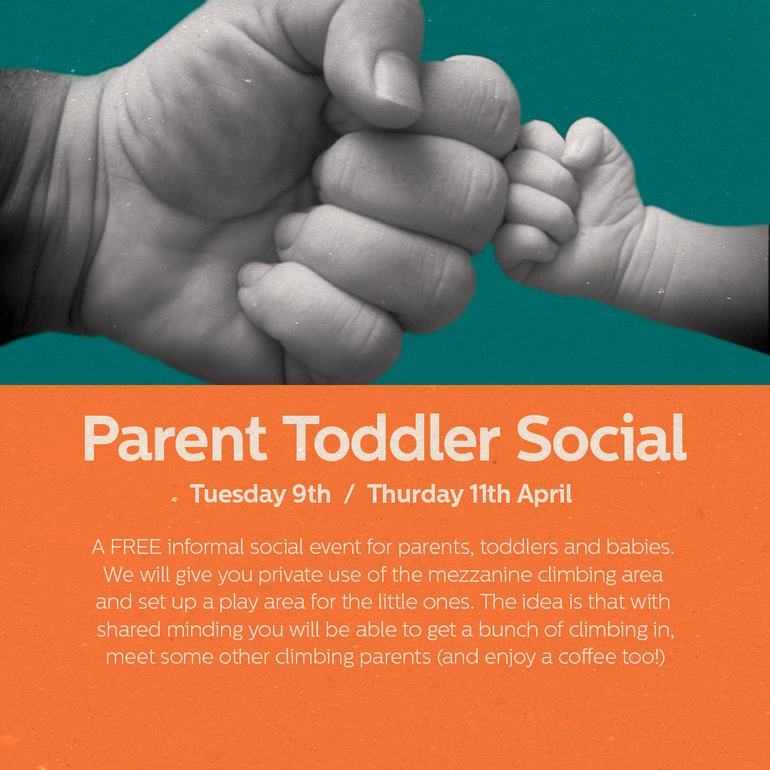 Sign up and join in the fun!   Parent Toddler Social, Tuesday 9th April, 10.30-11.30 am    Parent Toddler Social, Thursday 11th April, 10.30-11.30am