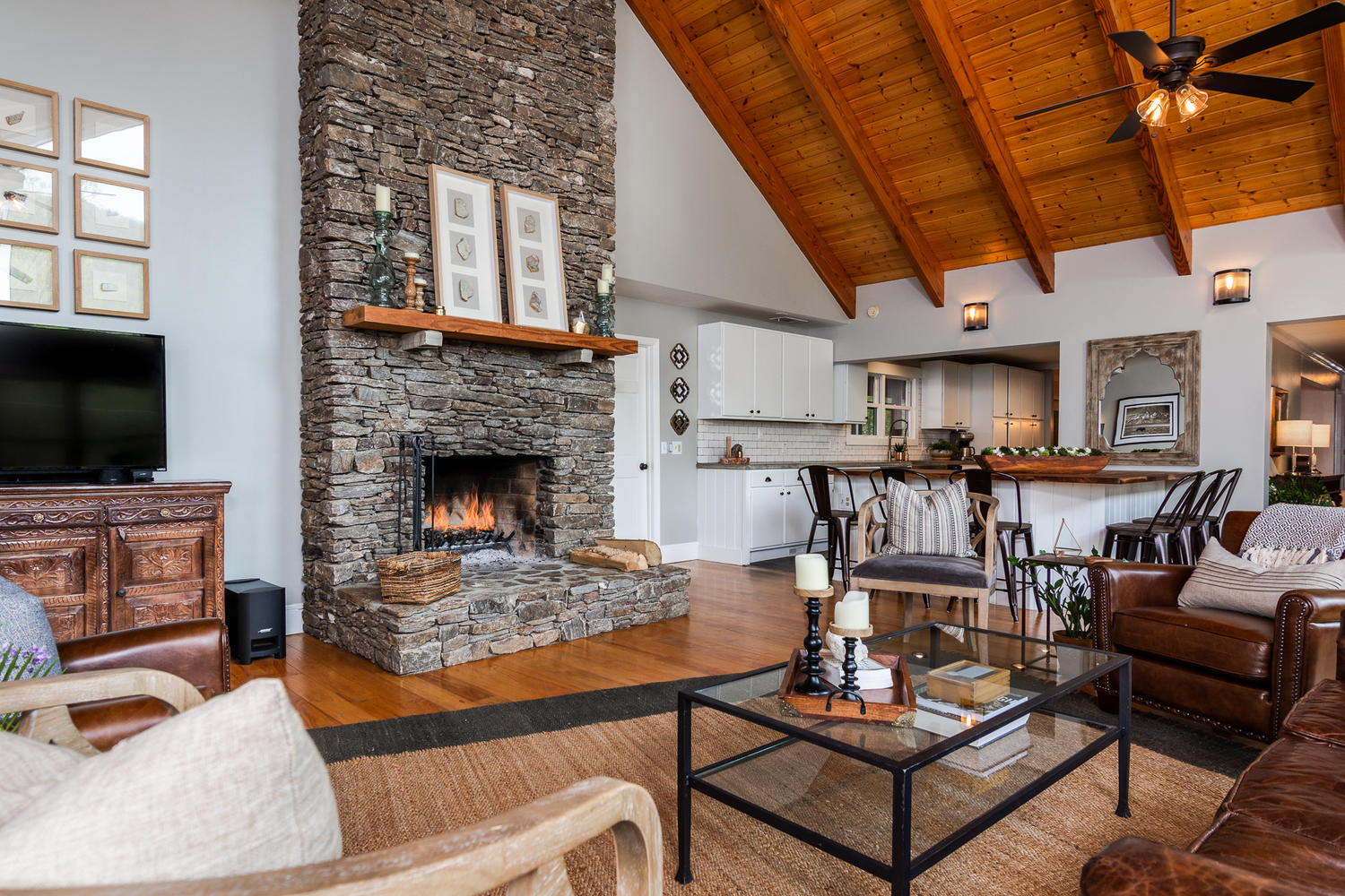 Indoor photo of the Farmhouse at Bliss Farm and Retreat