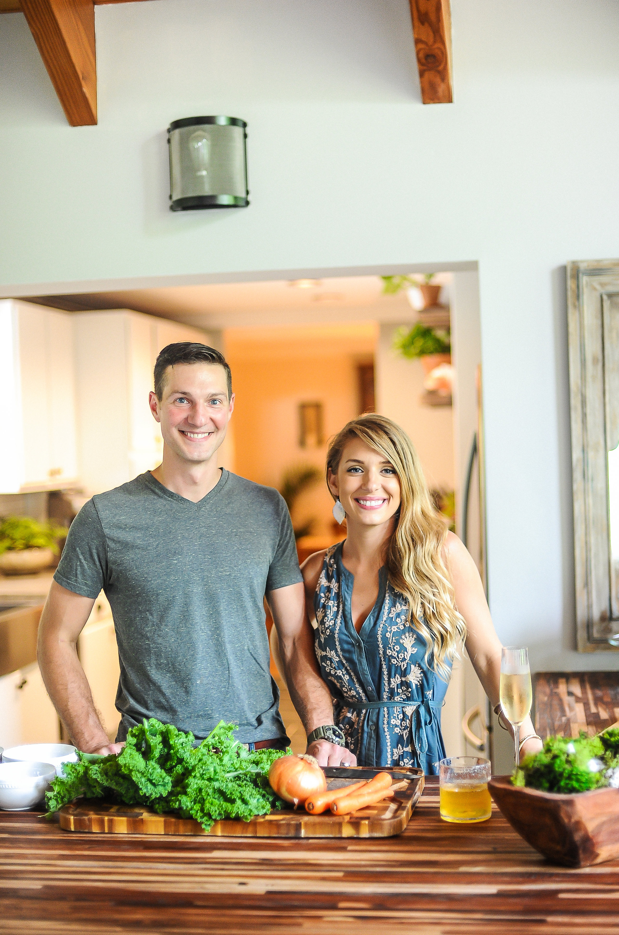Photo of Bliss Farm and Retreat owners Kelly and Frank King.
