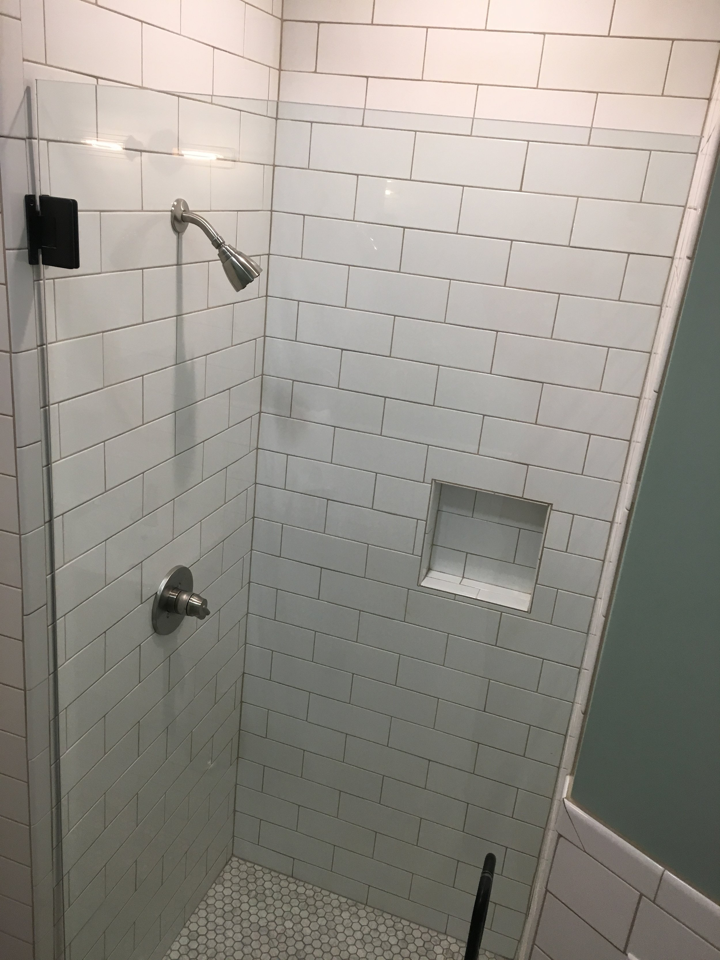 Photo of shower space