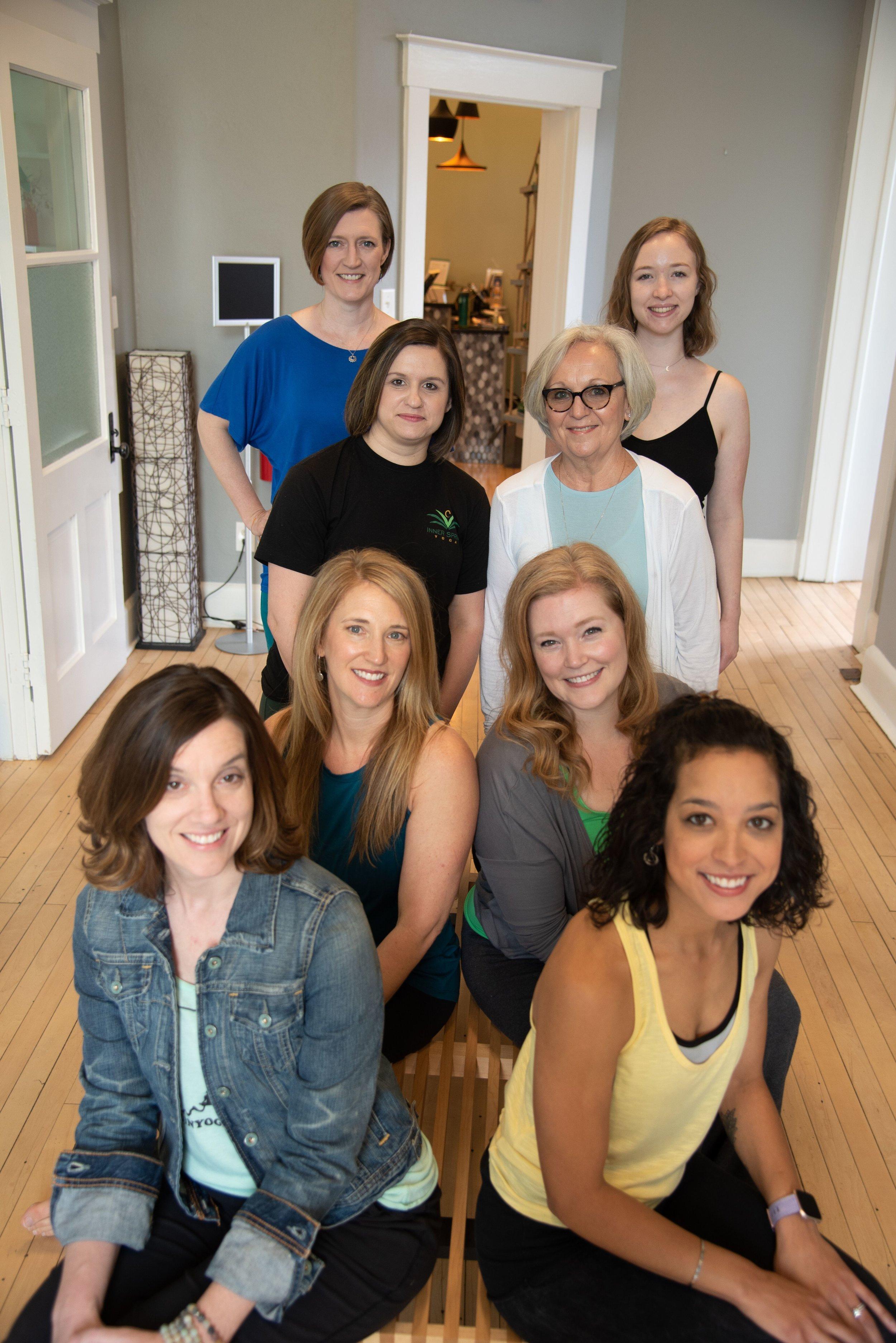 Registered Yoga Instructors at Inner Spring Yoga