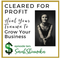 Emma Churchman & I talk about healing trauma for successful entrepreneurialship.  June 26, 2018 episode.