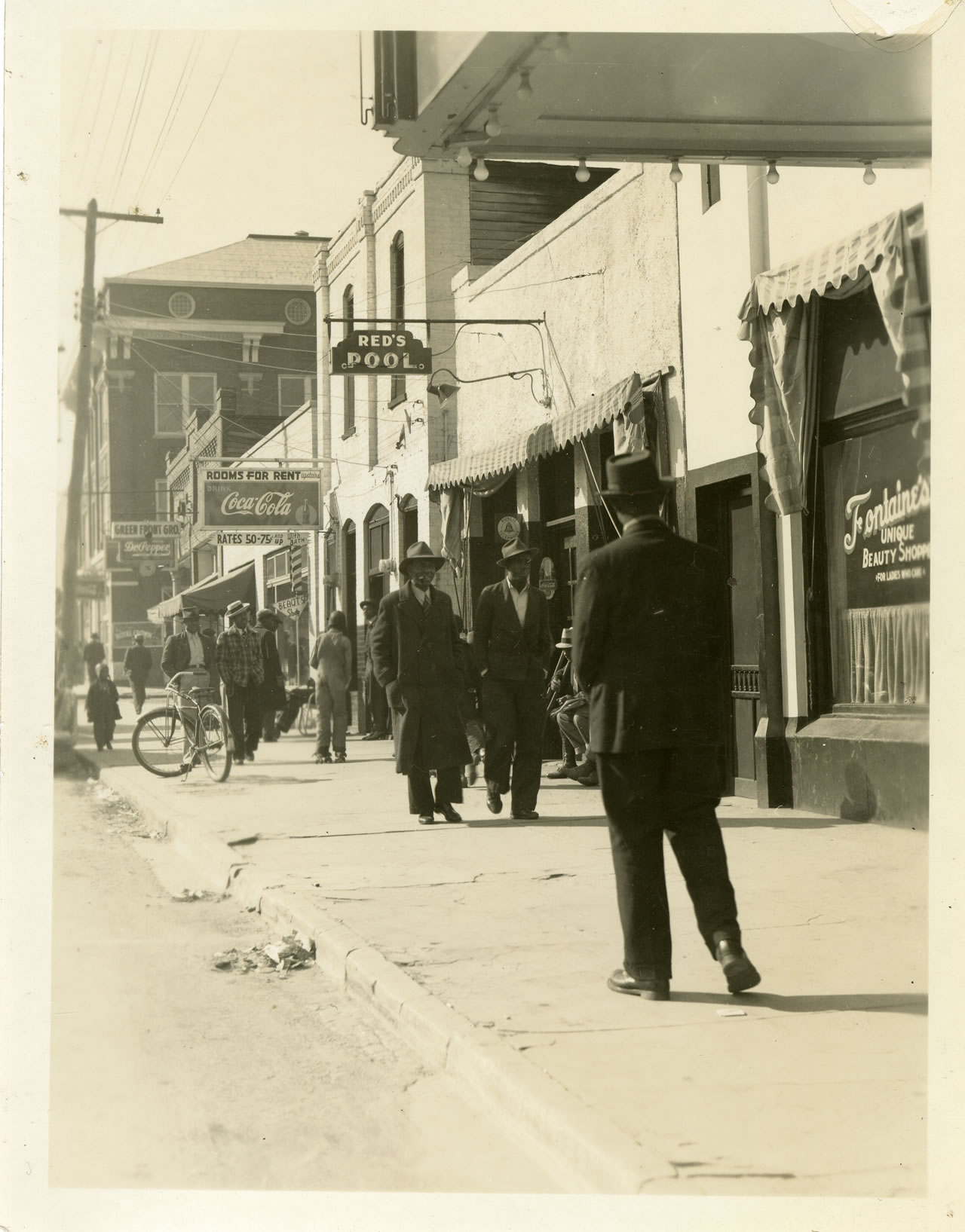 I even found some great old pictures on 9th St and the Dreamland Ballroom this week!