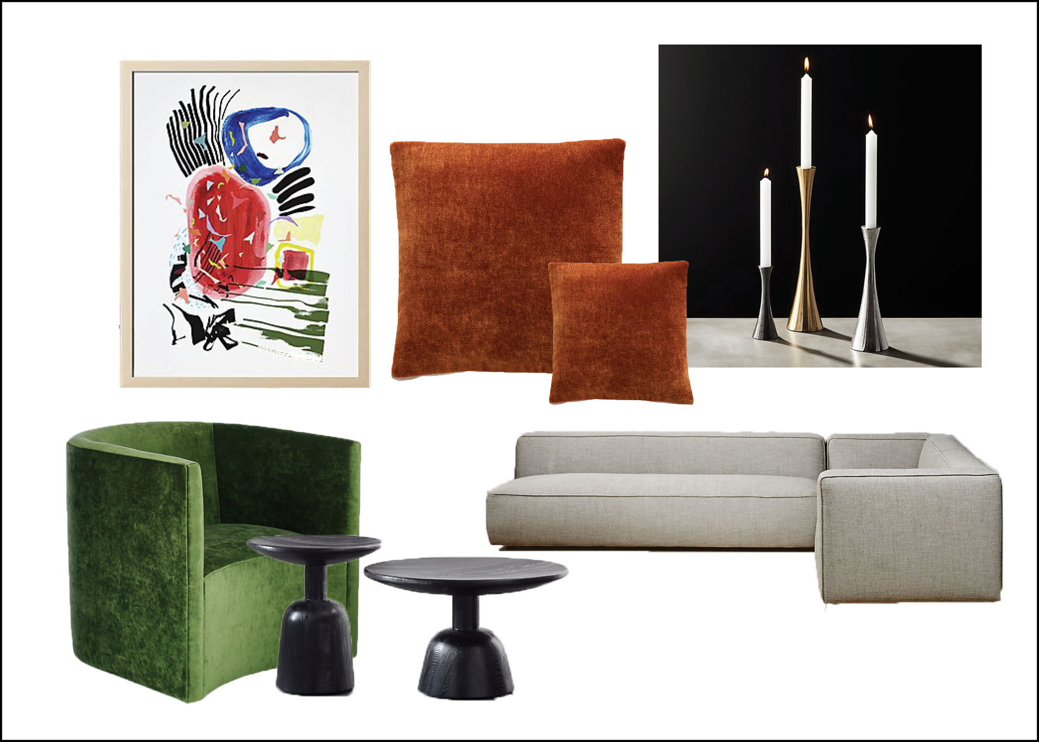 Living room Concept Board 2.