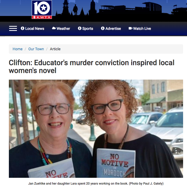 Educator's Murder Conviction Inspired Local Women's Novel - KWTX Waco