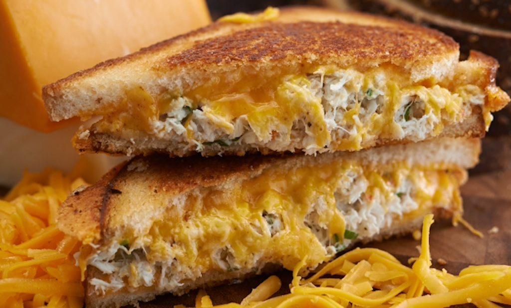 Crabby Cheese Melt