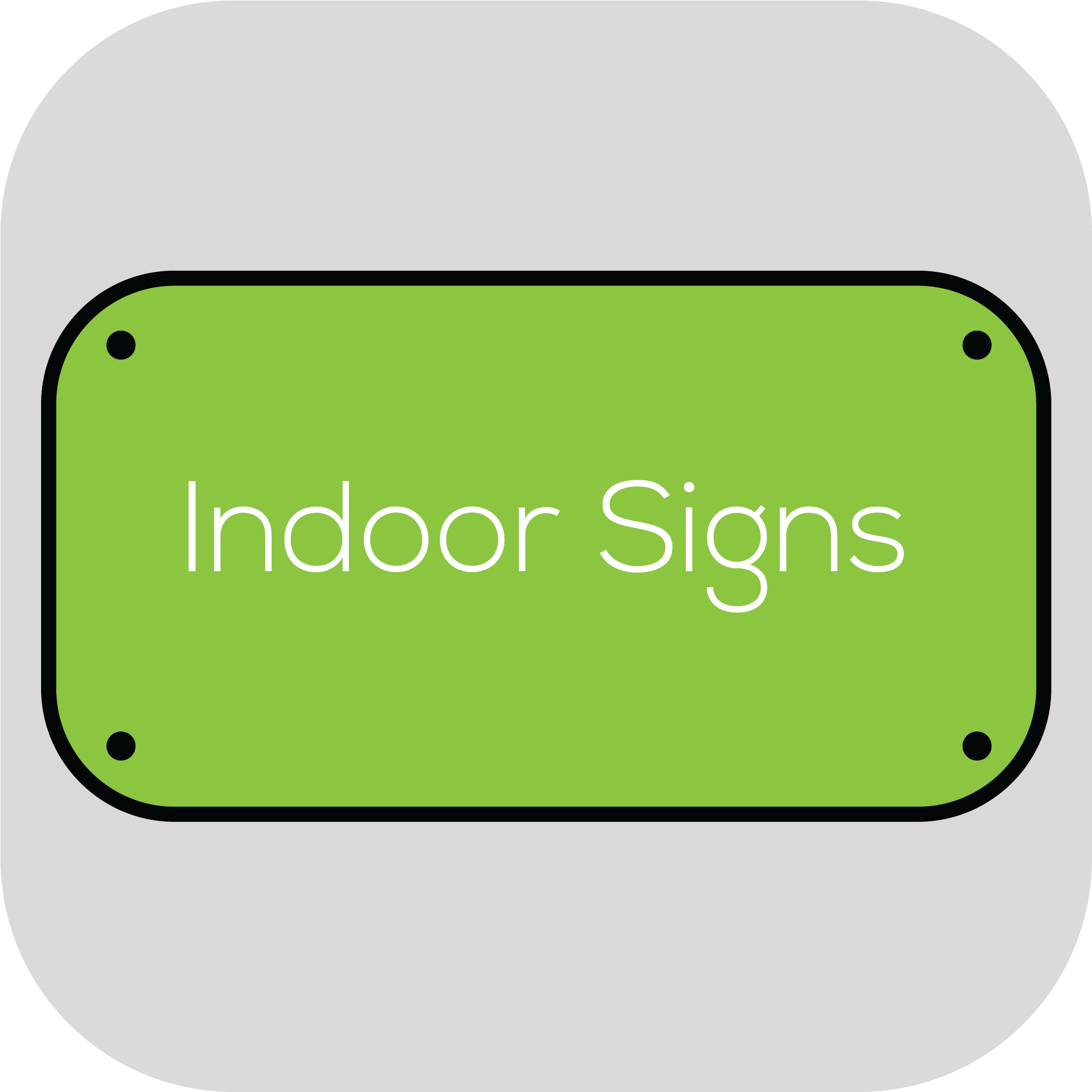 Indoor Signs   Local Fort Collins, Longmont, Greeley, Windsor,