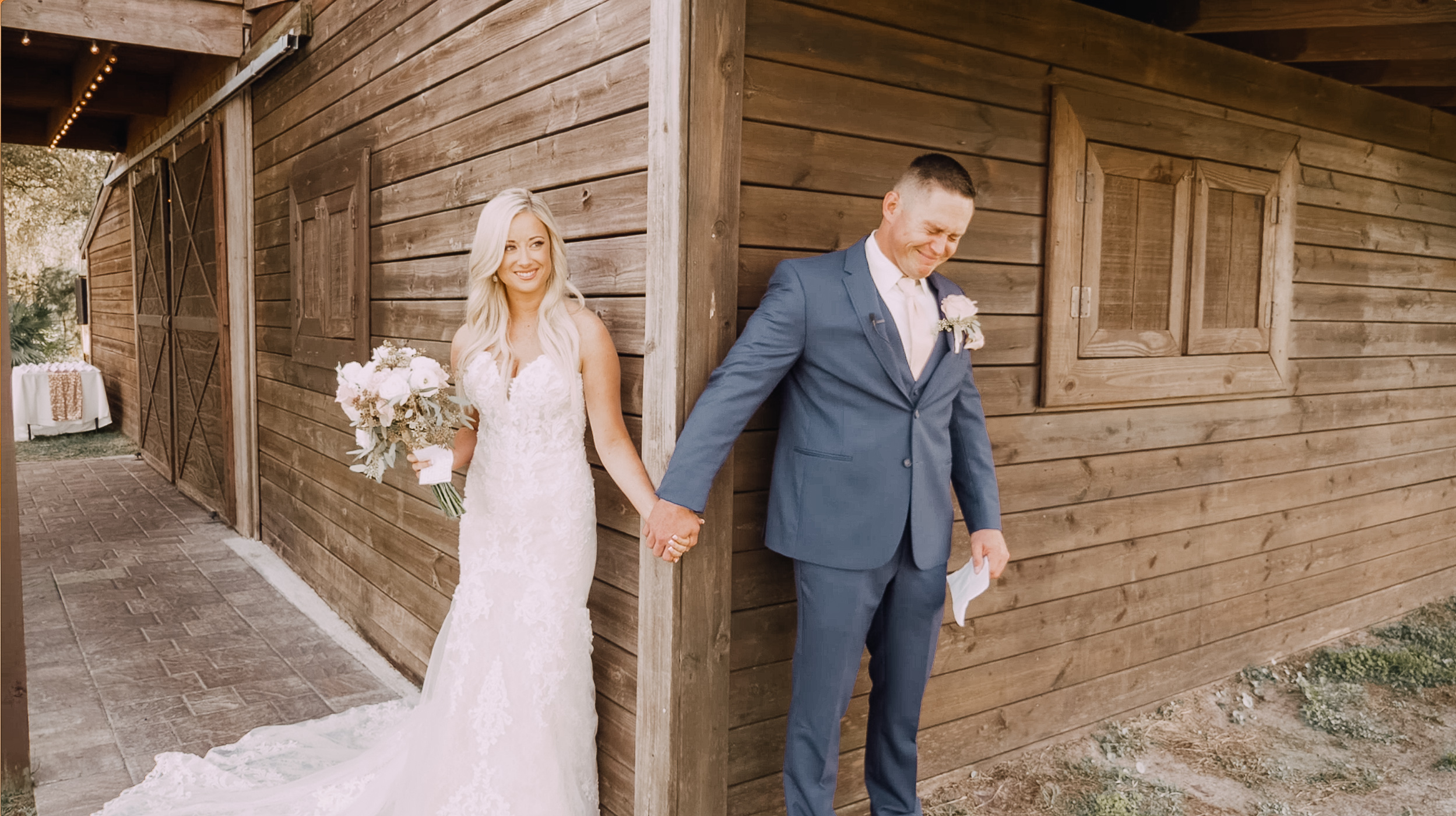 JOHN + VICTORIA - The wedding film of John and Victoria, captured at The Enchanting Barn in Osteen, FL.