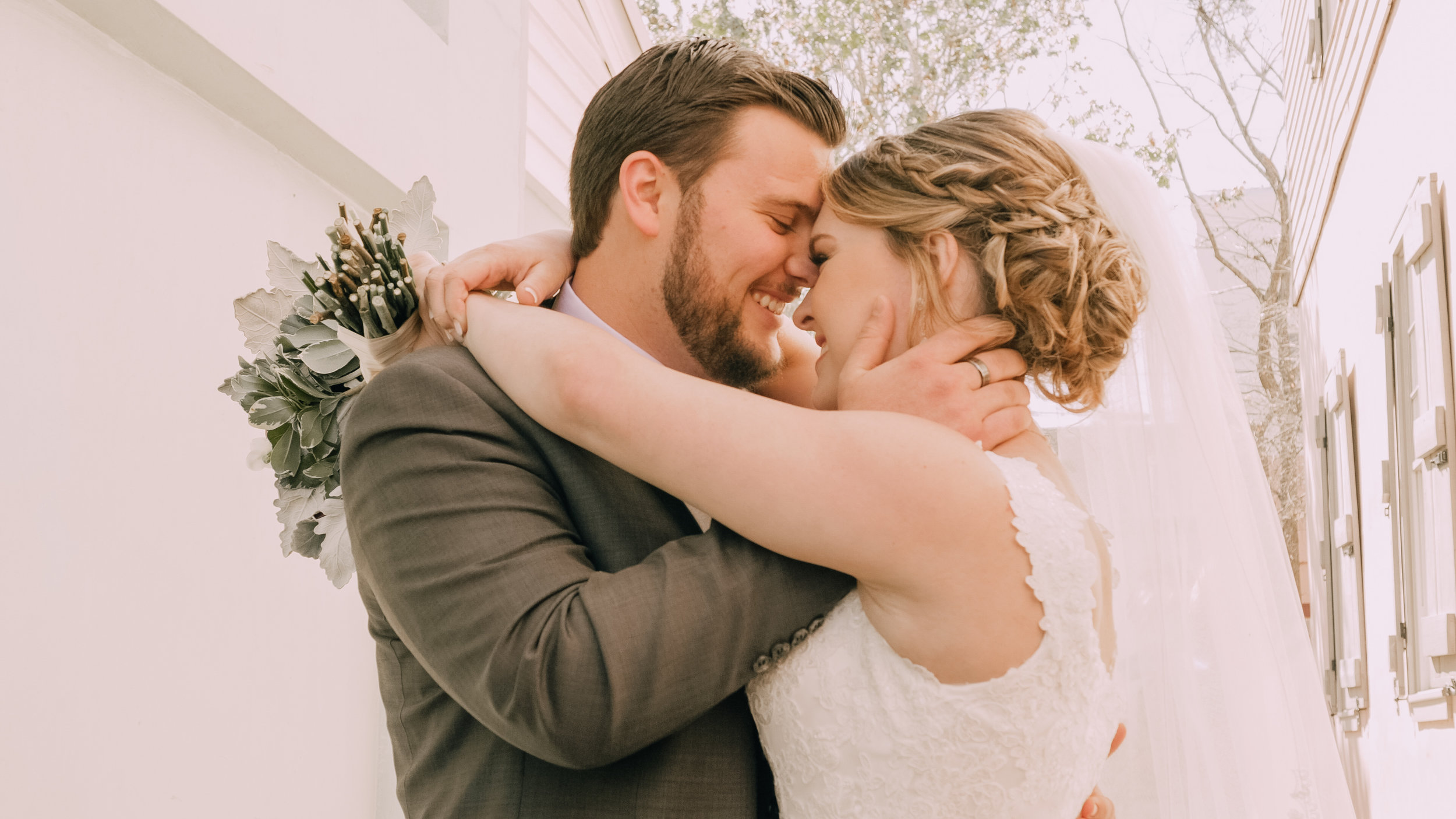 JULIAN + LEAH - The wedding of Julian + Leah, captured at The White Room in St. Augustine, FL.