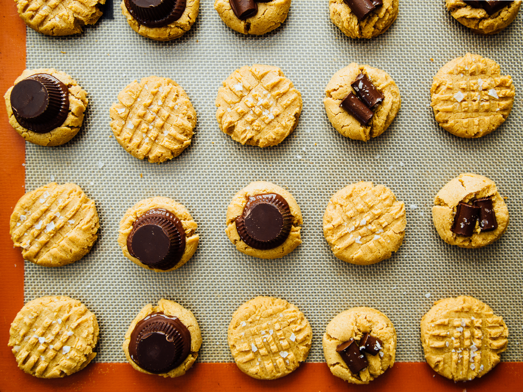 one-bowl-peanut-butter-cookies