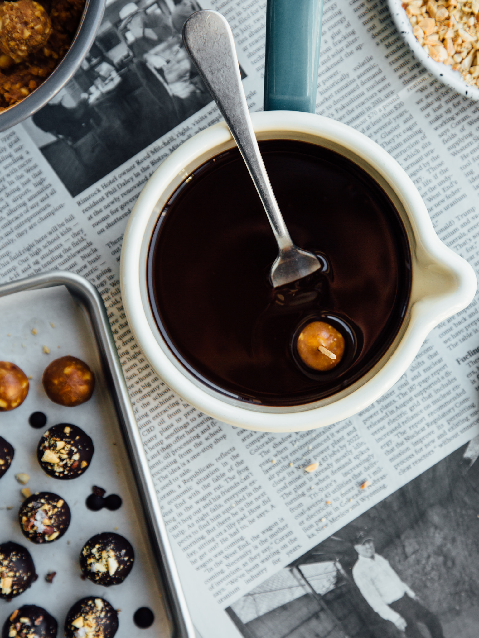 chocolate-covered-peanut-bites
