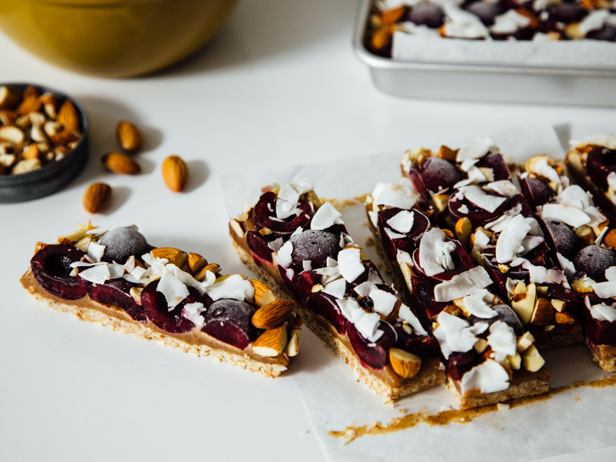 cherry-almond-butter-caramel-bars