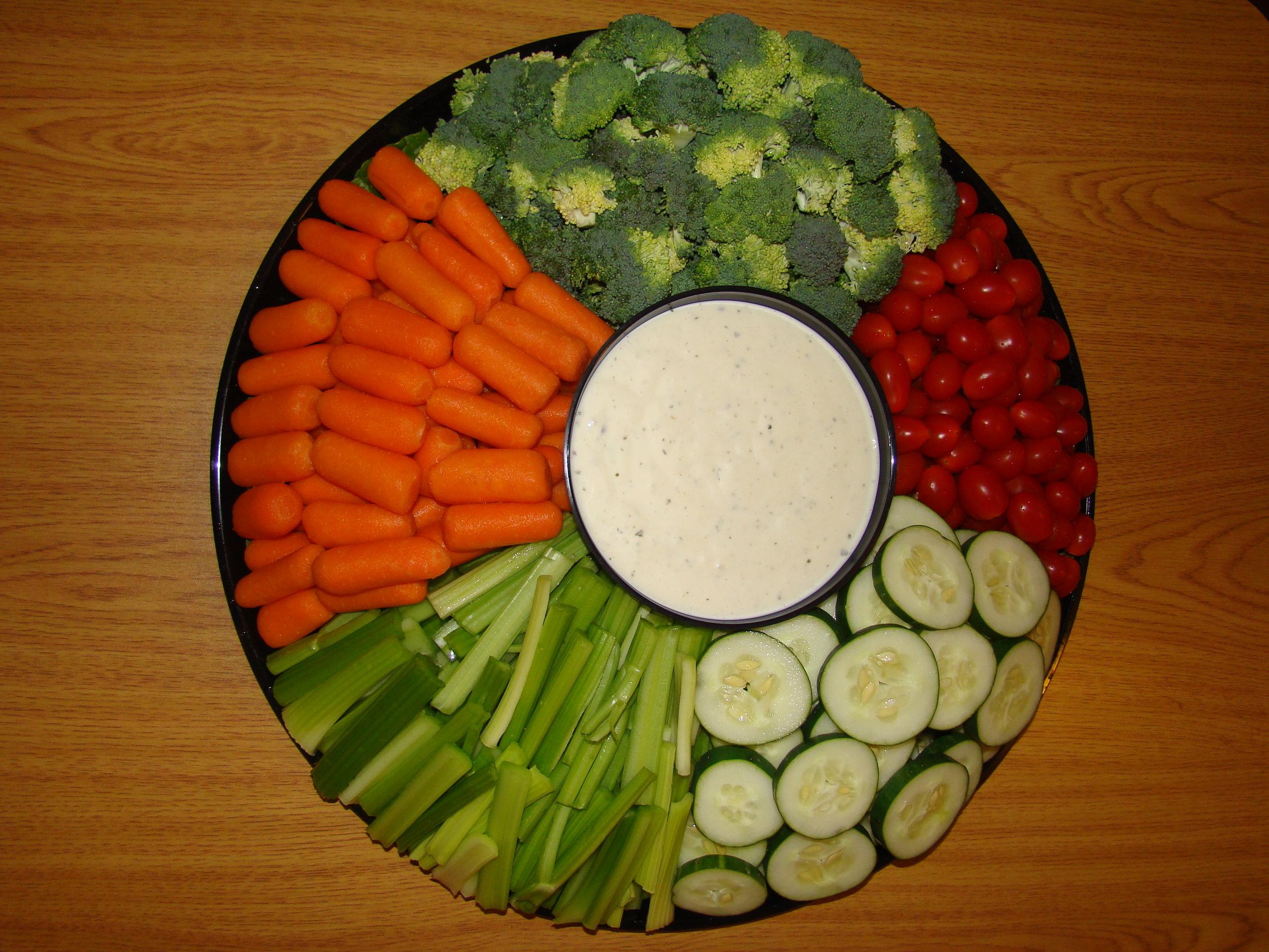 Vegetable Platter -