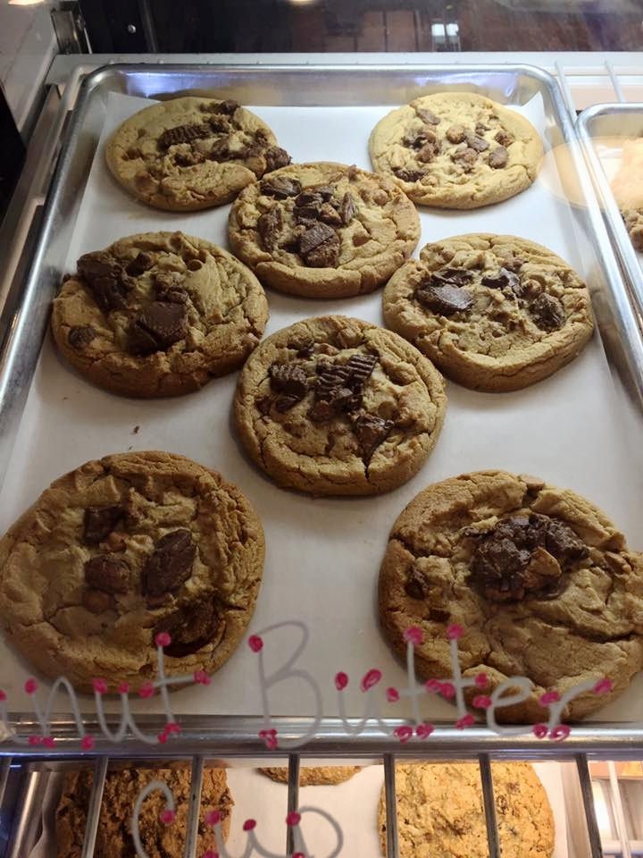 Our cookies and brownies are baked fresh daily! - At least six types of cookies to choose from every day!