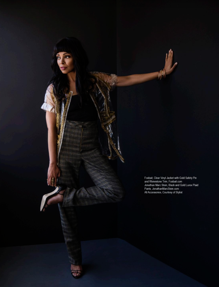 REGARD MAGAZINE APRIL 2018    TAMARA TAYLOR   2018