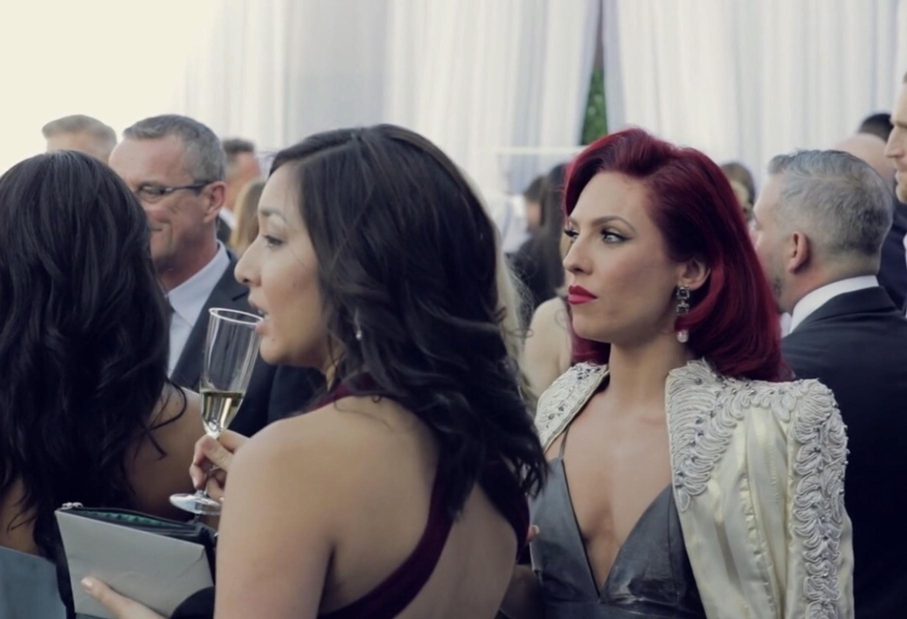 SHARNA BURGESS   EMMA SLATER & SASHA FARBER WEDDING 2018