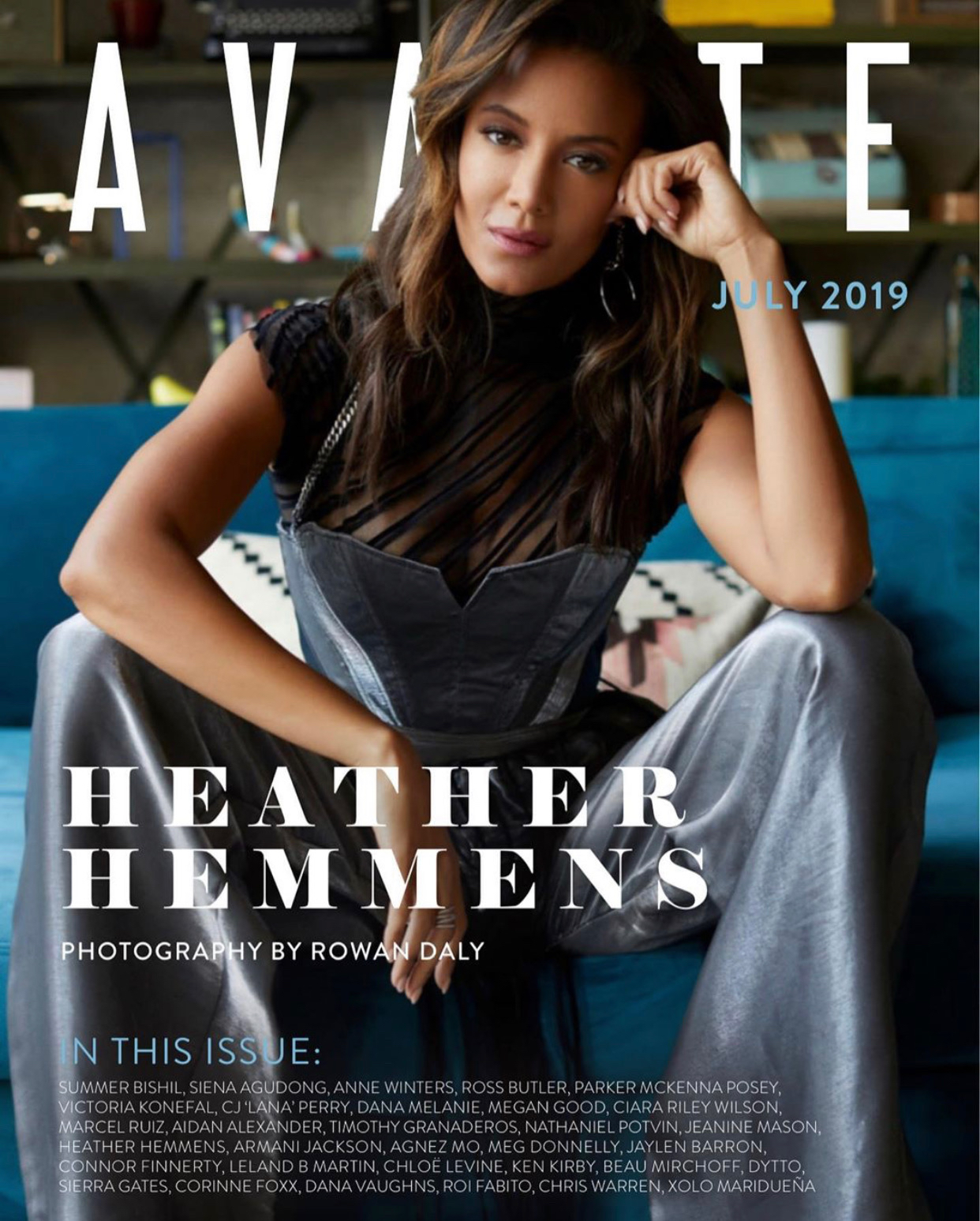 Avante Magazine july 2019    Heather Hemmens   2019