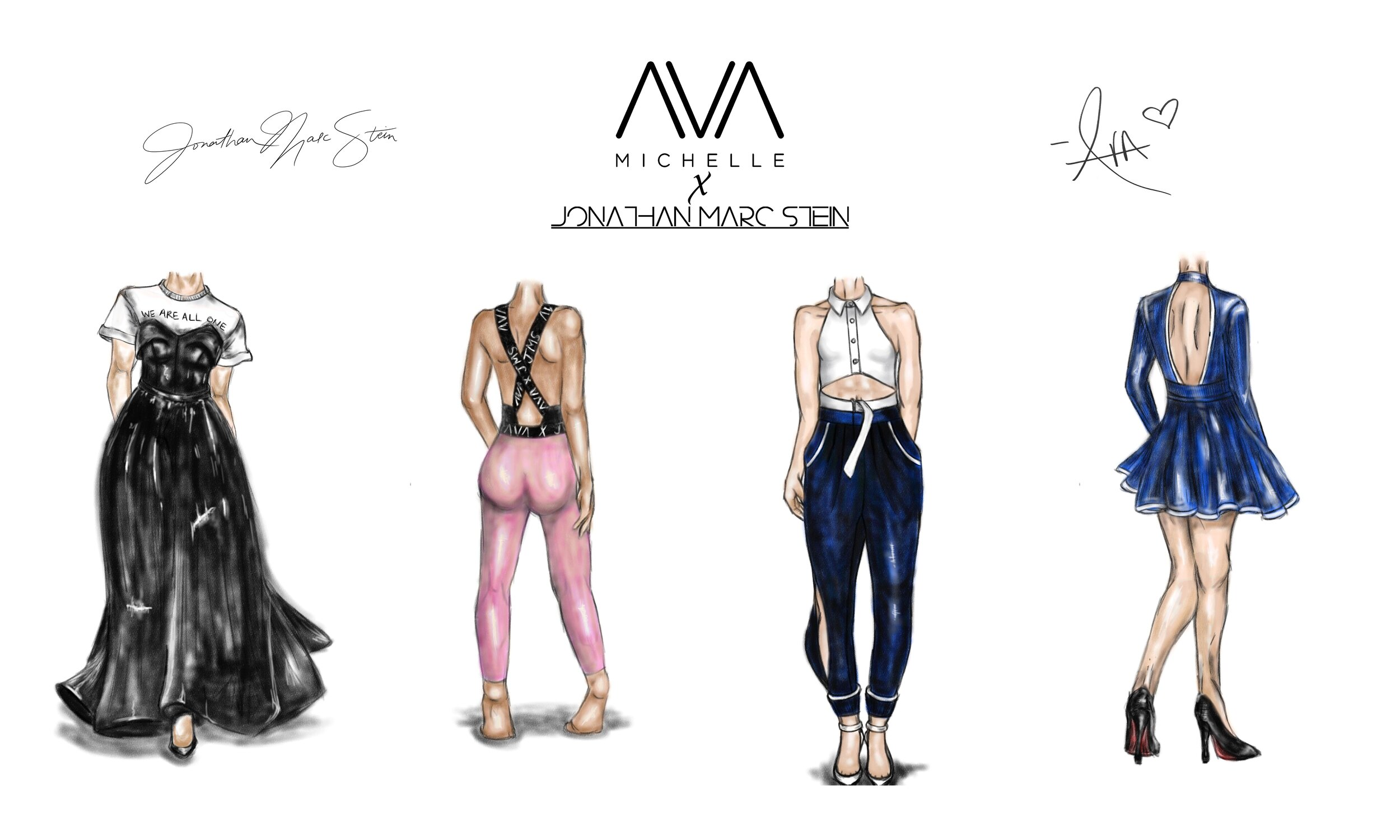 Capsule collection - CREATED WITH SINGER/ACTRESS AVA MICHELLE