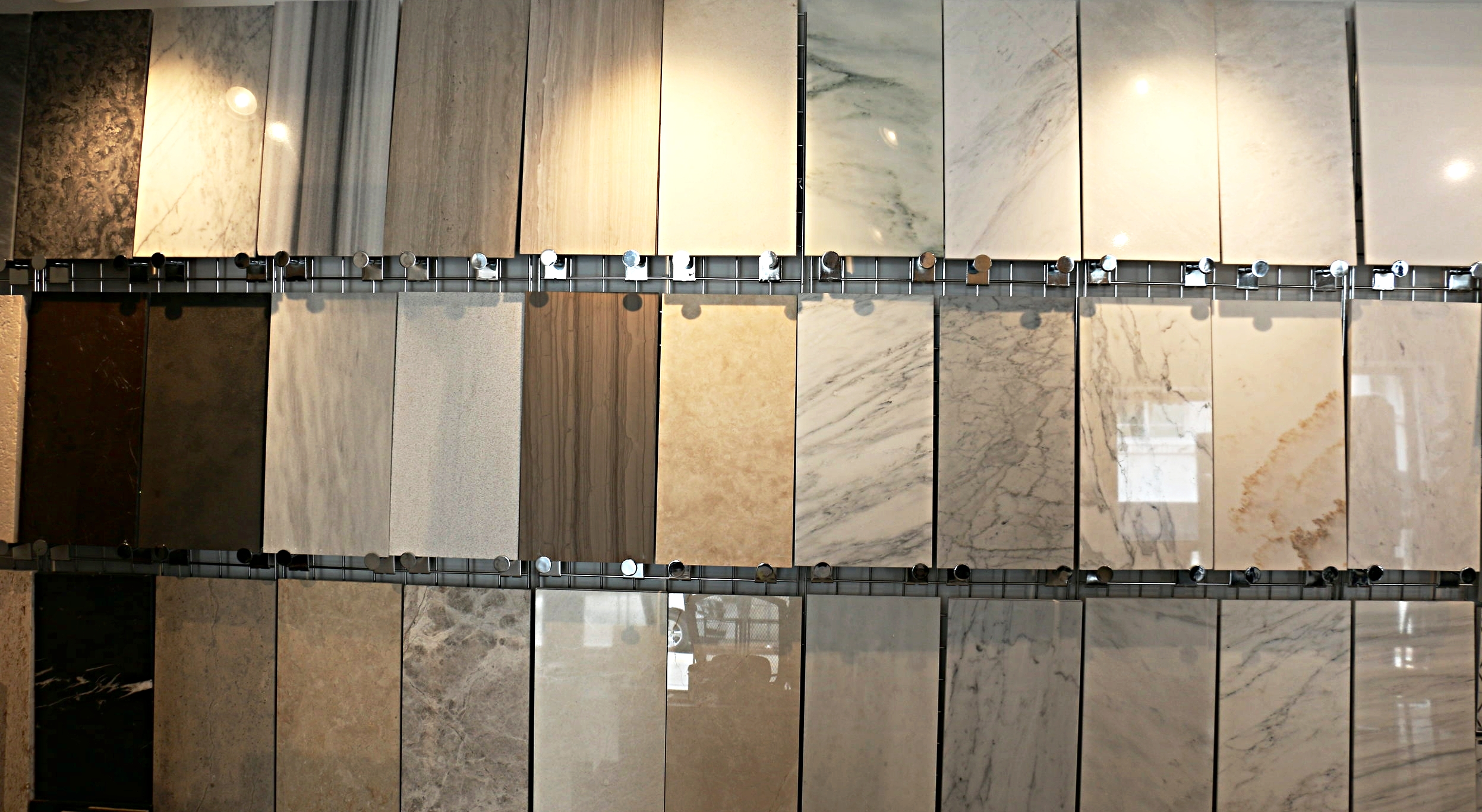 Natural stones at a warm, organic feel to any space.