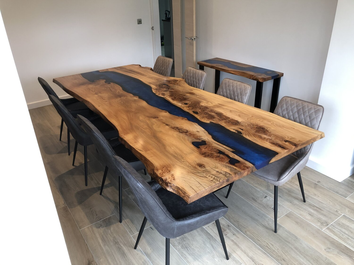Resin River Dining Table Rooso Designs