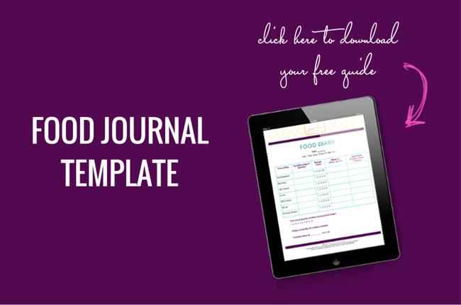 FREE Food Journal Template - Jenna Drew