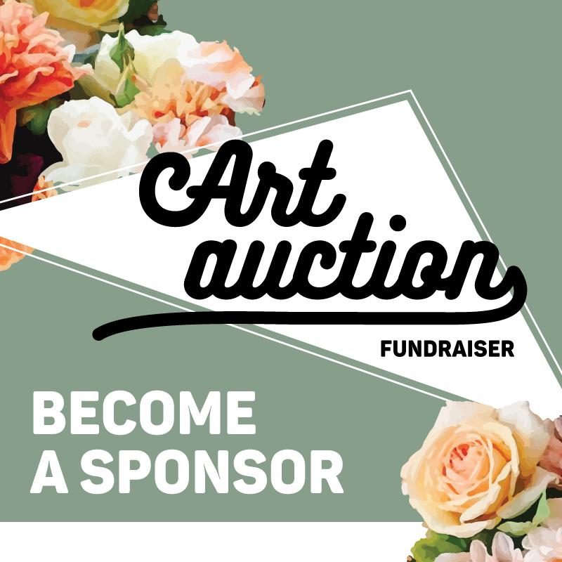 Art Auction Fundraiser - Become a Sponsor