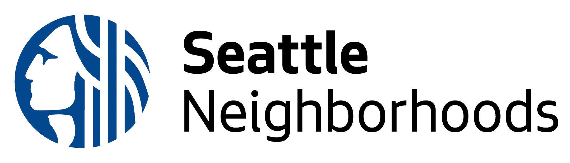 Image description: Seattle Neighborhoods logo