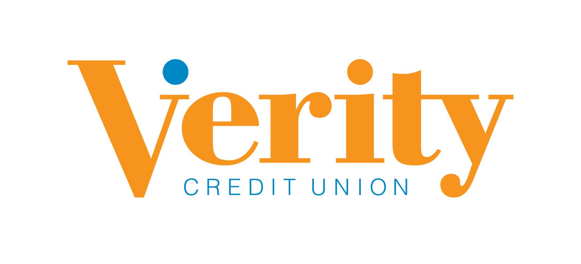 Image description: Verity Credit Union logo